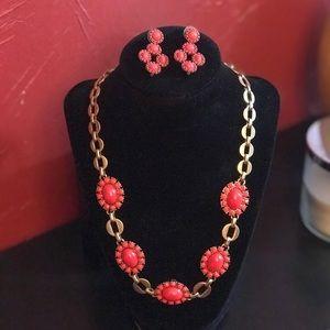 Stella & Dot Sardinia Necklace & Earrings